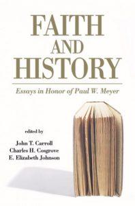 Faith and History