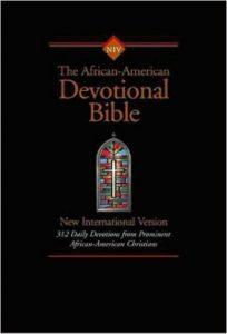 NIV African-American Devotional Bible Indexed