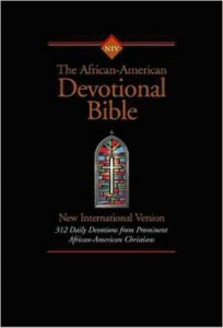 NIV African-American Devotional Bible Indexed