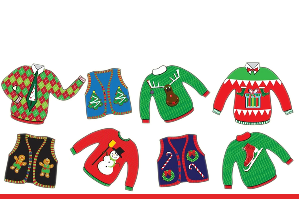 Green Day Christmas Sweater.Take Our Ugly Christmas Sweater Challenge Union